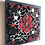 "Thumbnail: Tableau ""CHAKRA ROUGE"" (20 x 20 cm ) - 2020"