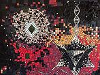 le jardin d'éveil, tableau mosaïque, Toulouse, Aurélie Martignac, Merkaba