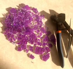 crackel violet