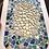 Thumbnail: Décoration murale mosaïque tons bleus, orange & éclats de miroir