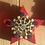 Thumbnail: Décoration de table : étoile en bois et mosaïque