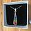 Thumbnail: Collier HARMONY argent 925 - mosaïque de verre 7 chakras