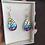 Thumbnail: Boucles d'oreilles STELLA & mosaïque de verre