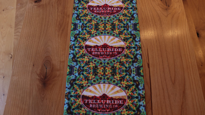 Telluride Brewing Co Face Mask/Neck Gaiter Blue Multi
