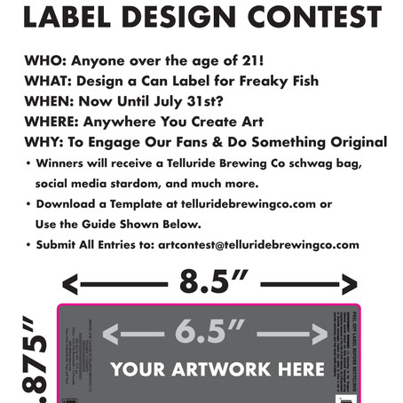 Get Freaky with Telluride Brewing Co's First Ever Label Design Contest