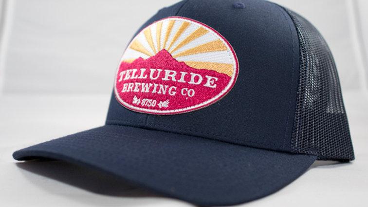 TBC Logo Hat - Navy w/Navy Mesh