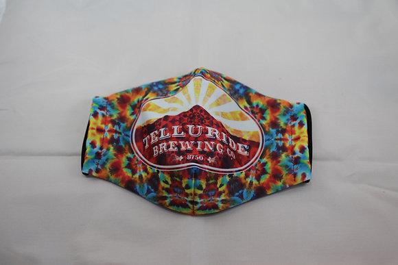 Telluride Brewing Co Multi-Color Face Mask