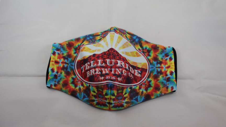 Telluride Brewing Co Multi-Color Face Mask