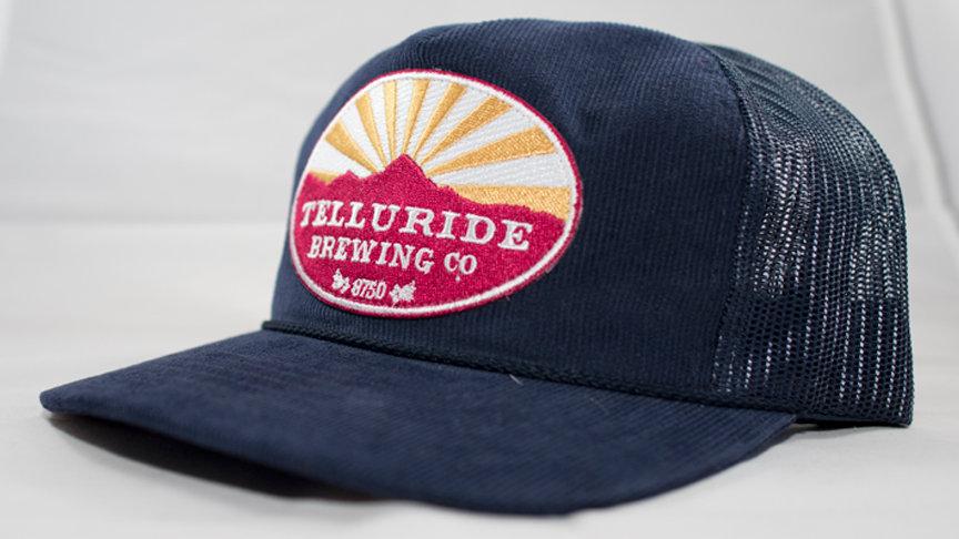 Telluride Brewing Co Corduroy Logo Hat