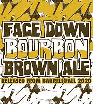 Face Down Bourbon Brown Label