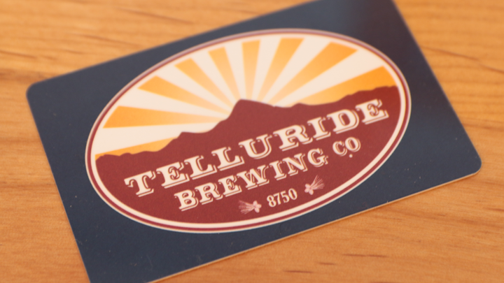 Telluride Brewing Co Gift Card
