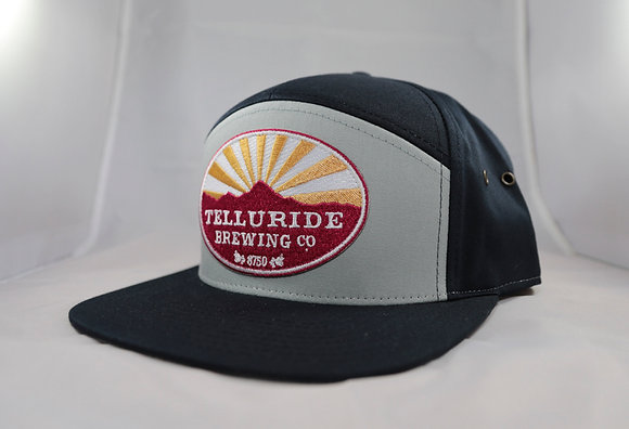 Two Tone Gray/Navy Telluride Brewing Co Hat