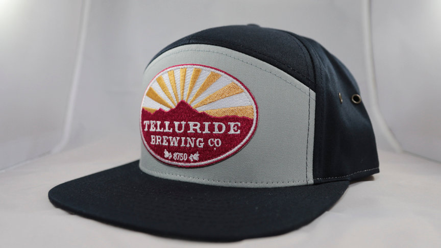 Two Tone Gray/Black Telluride Brewing Co Hat