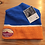 Thumbnail: M3 Telluride Brewing Co Knit Hat - Blue & Orange