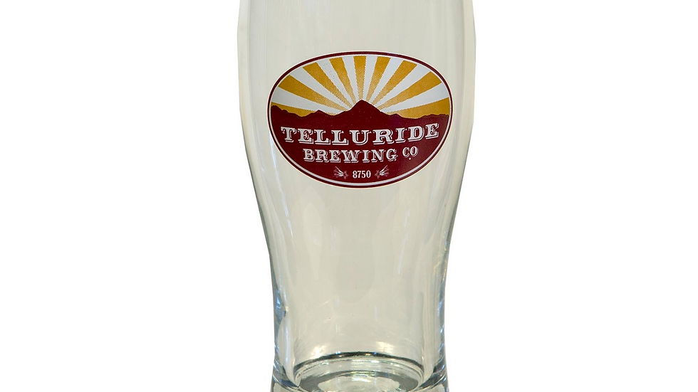 Telluride Brewing Co Pint Glass