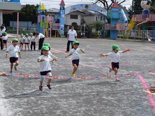 運動会の練習~年少組~