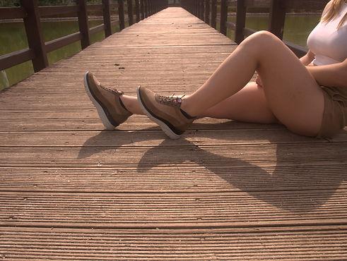 zapatilla confort mujer