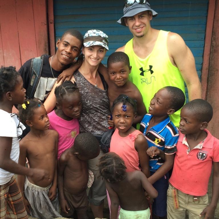 Haitians are super friendly