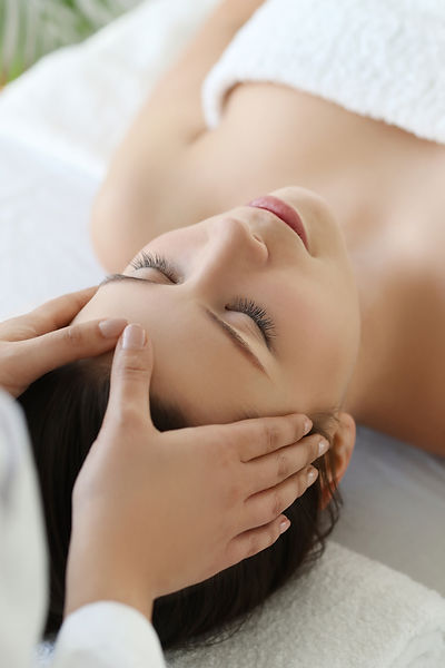 Beauty and healthcare. Woman in spa salo
