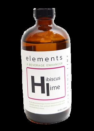 elements Beverage Enhancer | Hibiscus Lime 500ml