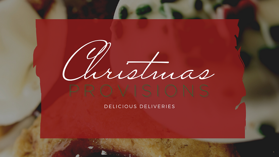 CHRISTMAS | PROVISIONS Sweets