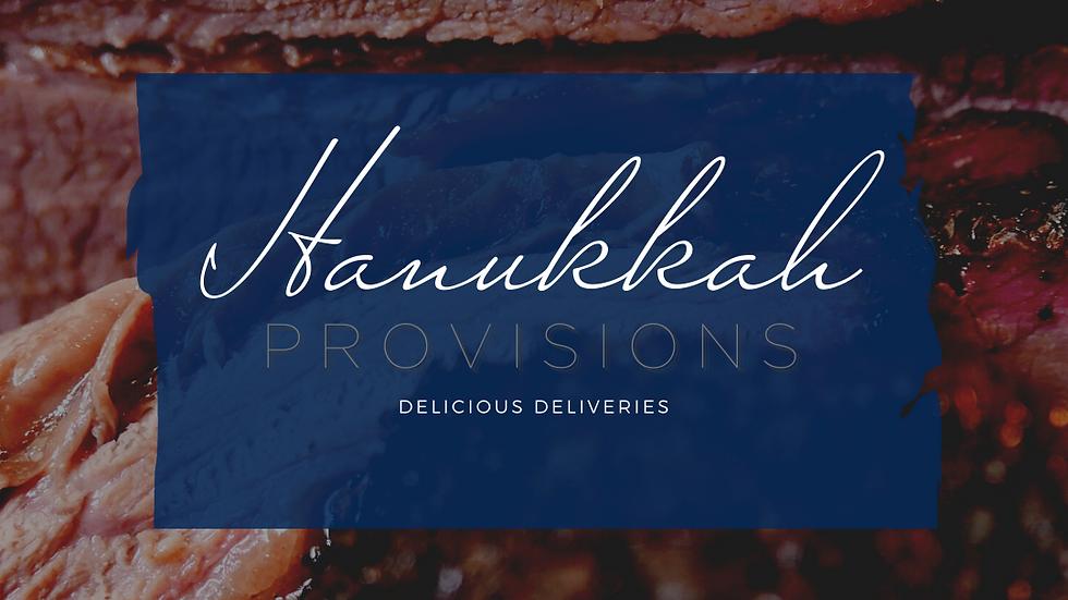 HANUKKAH | PROVISIONS Slow Roasted Brisket