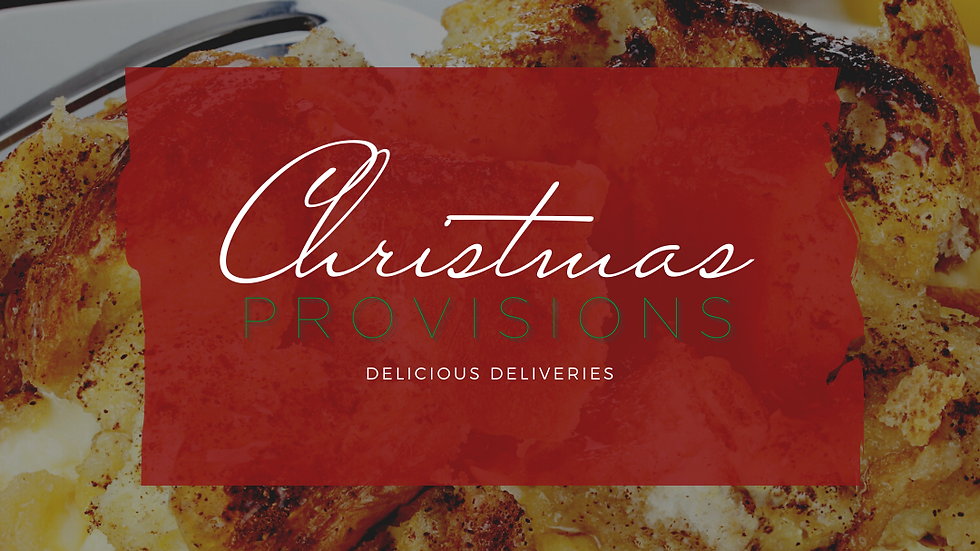 CHRISTMAS | PROVISIONS Cinnamon Sugar Bake