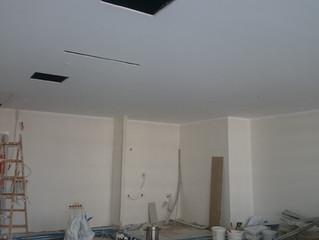 MAHALL Ankara E Blok 25 nolu Ofisi asma tavan alçıpan imalatı devam ediyor.
