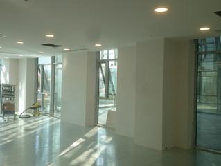 MAHALL Ankara B Blok 11 nolu Ofisi şantiyesinde Yükseltilmiş Döşeme yapılmaya başlandı.