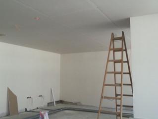 MAHALL Ankara B Blok 15 nolu Ofisi asma tavan alçıpan imalatı devam ediyor.