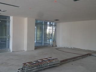 MAHALL Ankara B Blok 11 nolu Ofis şantiyesinde boya işlemlerine geçildi