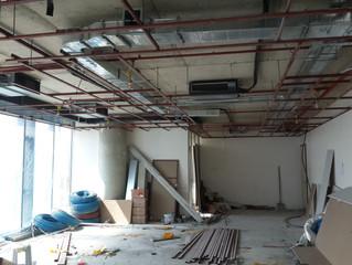 BESA KULE 7. Kat / 24 numaralı Ejder Yılmaz Ofisi VRF Cihazlarının montajı ve elektrik tesisatı uygu
