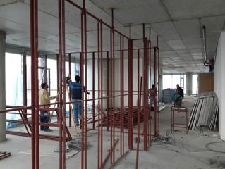BESA Kule 12. Kat / ENERGO - PRO ofisi Sprinkler tesisatı uygulaması, Havalandırma tesisatı uygulama