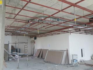 BESA KULE 7. Kat / 24 numaralı Ejder Yılmaz Ofisi Havalandırma tesisatı ve Sprinkler tesisatı uygula