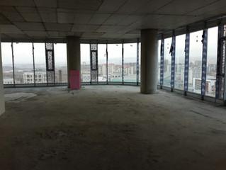 ENERGO-PRO BESA KULE 12. Kat Ofisi Şantiye kurulumu başladı.