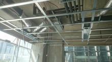 MAHALL Ankara B Blok 11 nolu Ofis şantiyesinde Asmatavan imalatına başlandı