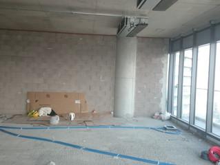MAIDAN A Blok 123 nolu Ofisi elektrik altyapısına başlandı.