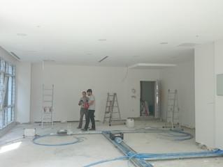 MAHALL Ankara E Blok 51 nolu Ofis yükseltimiş döşeme imalatına geçildi