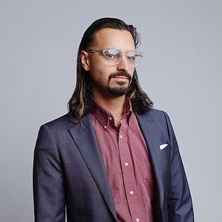 Portrait of Mudasser Ali, Senior graphic designer