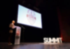 James Hutton Presenting at Ontario Socce