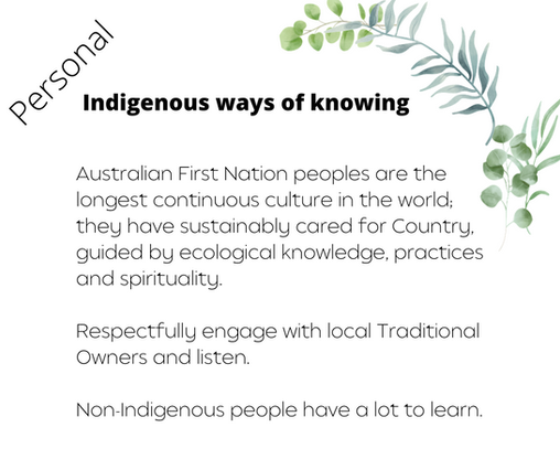 Indigenous ways of knowing