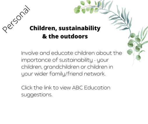 Children, sustainability & the outdoors