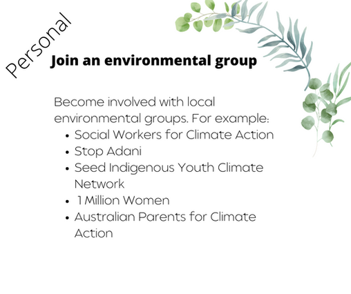 Join an environmental group