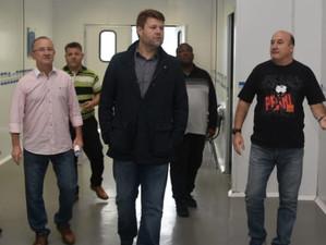Tutuca visita Faetec Volta Redonda e anuncia curso superior para 2020