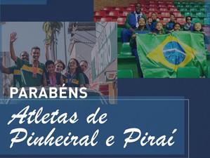 Tutuca propõe Moção de Aplausos aos atletas de ginástica de Piraí e Pinheiral