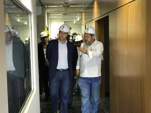 Comissão de Modernização Tecnológica da Alerj visita novo prédio da Assembleia