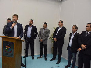 Tutuca participa de inauguração de Polo Tecnológico de Barra do Piraí