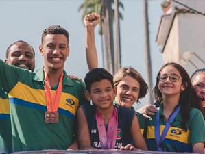 Tutuca convida população de Piraí para entrega de moção aos atletas da ginástica