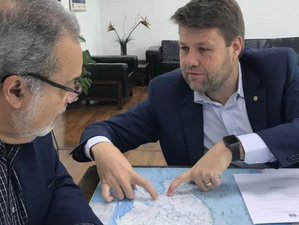 Deputado Gustavo Tutuca anuncia assinatura de convênio entre DER e prefeitura de Barra Mansa