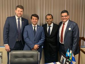 Deputado Tutuca vai a Brasília em busca de recursos para Itatiaia
